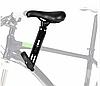 Детское велосиденье на раму Черное TOYO-008