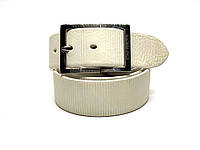 Ремень кожаный TONY PEROTTI TP 4081 135 см White, КОД: 2353806