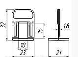 Подставка СВП Mini 2 мм (500 шт), фото 3