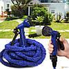 Шланг для поливу Magic Hose 22.5 м. Поливної садовий шланг X-Хосе. 22.5 м, фото 6