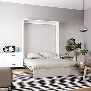 Кровать-трансформер Mitra 160*200 см нимфея альба/пепельный ТМ ARTinHEAD