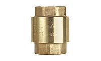 Клапан обратный латунный муфтовый EURA Export F.I.V. Ду 40 Ру 10