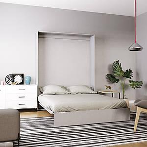 Кровать-трансформер Mitra 160*200 см пепельный ТМ ARTinHEAD