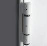 Противопожарная дверь SPLIT EI60 металл R/L 1200(800+400)*2050 DIERRE, фото 2
