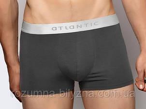 Труси-шорти чоловічі у сірому кольорі, бавовна. ТМ Atlantic. M. XL