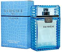Мужская туалетная парфюмированная вода Versace Man Fraiche 100 ml, мужской парфюм духи Версаче Мен Фреш, парфю