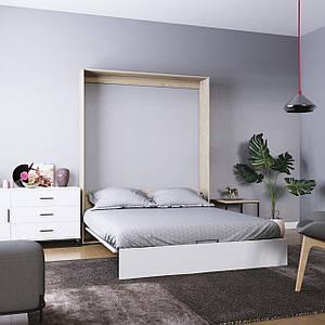 Кровать-трансформер Mitra 160*200 см дуб сонома/пепельный ТМ ARTinHEAD
