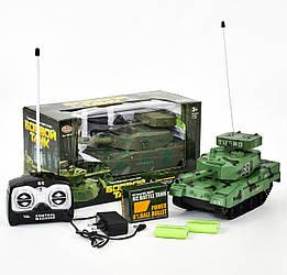 Танк на радиоуправлении, танк на управлении, на пульте, игрушка на пульту управления р у д у