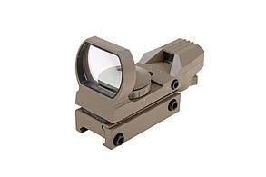 Коліматорний приціл Open Reflex Sight Theta Optics Tan