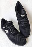 Баталы! Reebok летние черные с белым мужские кроссовки большого размера сетка! Супер Новинка!, фото 2