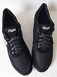 Баталы! Reebok летние черные с белым мужские кроссовки большого размера сетка! Супер Новинка!, фото 4