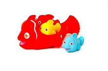 Игрушка для купания Рыбки 6327-1 пищит