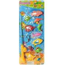 Детская магнитная рыбалка M 0052 U/R с 12ю рыбками