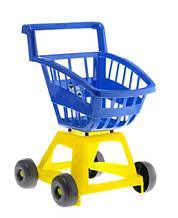 Игровой набор Магазин тележка с корзинкой 693, 4 цвета (Синий)