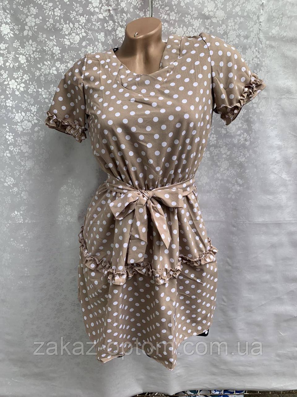Платье женское Софт оптом (42-48) Украина-73296