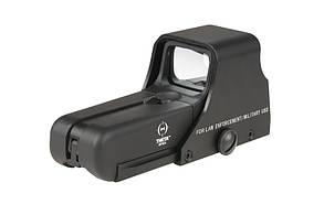 Коліматорний приціл Theta Optics TO552 Red Dot Sight Black