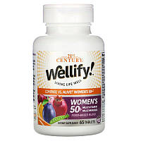 Вітаміни і мультиминералы для жінок старше 50 років, Wellify, 21st Century, 65 таблеток