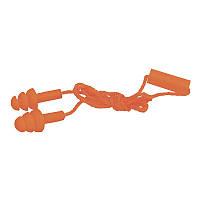 Беруши защитные тройные, пара, на веревке (Силикон)
