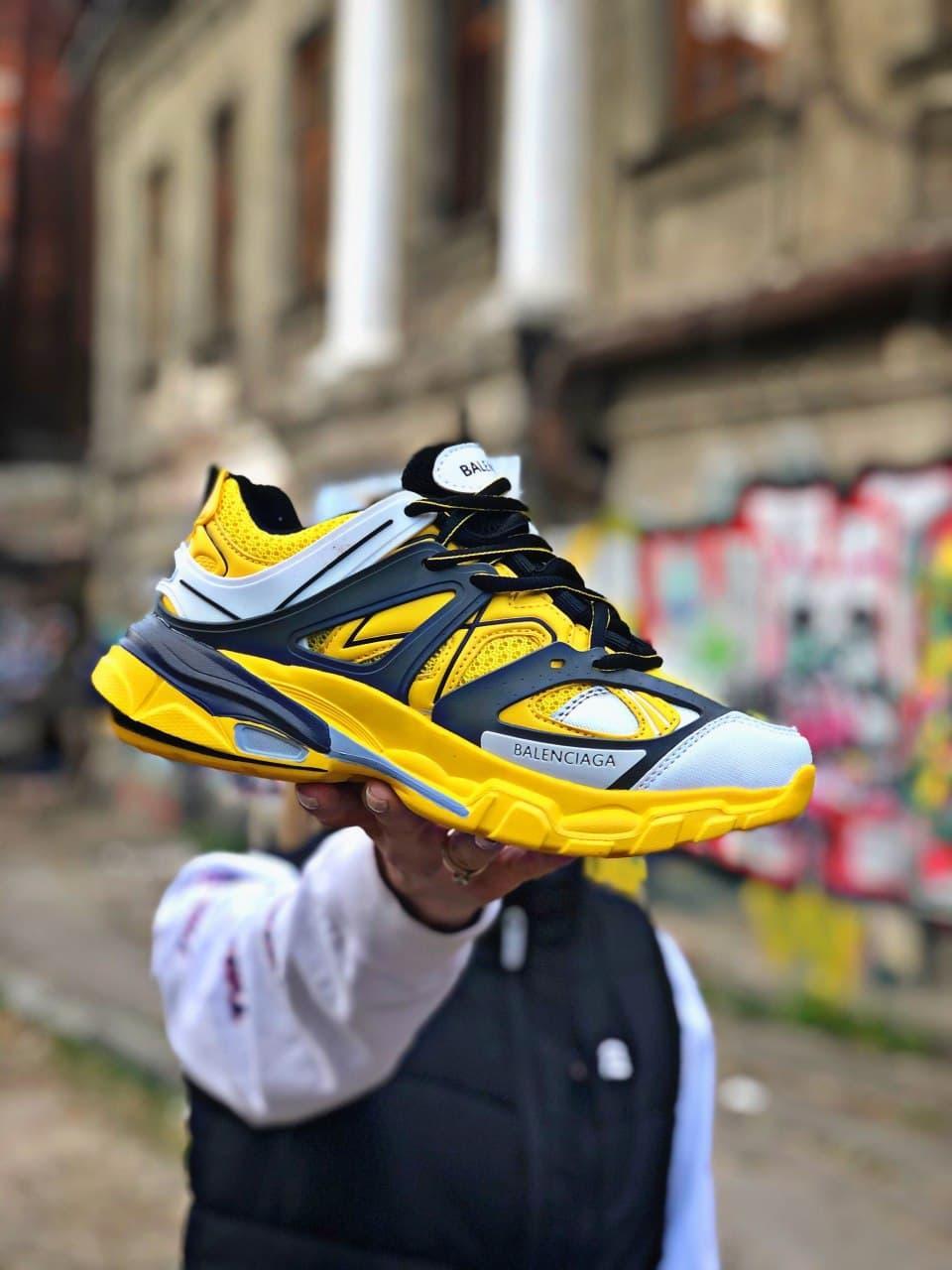 Жіночіі кросівки Balenciaga Track Yellow