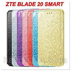 Чохол-книжка GETMAN Mandala для ZTE Blade 20 Smart