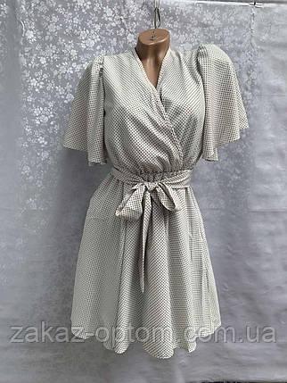 Платье женское Софт оптом (42-48) Украина-73301, фото 2