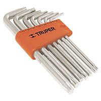 Набор ключей Torx удлиненные в пластиковой кассеты, 7шт.