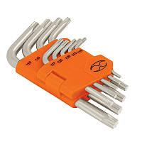 Набор ключей Torx в пластиковой кассеты, 9шт.