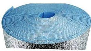 Полотно ламинированное 5,0 мм EXTRA повышенной плотности синее  одност. Теплоизол  шир.-100см,