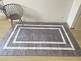 """Безкоштовна доставка!Турецький килим у спальню """"Silver"""" 100х200см., фото 2"""
