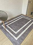 """Безкоштовна доставка!Турецький килим у спальню """"Silver"""" 100х200см., фото 3"""