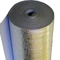 Полотно фольгированное  двухстороннее 10,0 мм Теплоизол шир.-100см,