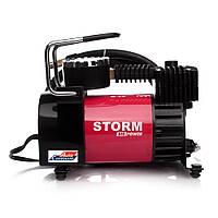 Автомобильный компрессор с автостопом STORM Big Power AUTOSTOP 20320, автокомпрессор с манометром