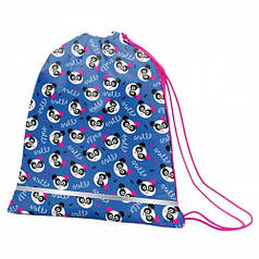 Сумка для обуви SMART SB-01 Hello, panda, синий/розовый 556988