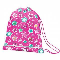 Сумка для обуви SMART SB-01 Shine Bright, розовый/бирюзовый 557097