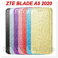 Чохол-книжка GETMAN Mandala для ZTE Blade A5 2020
