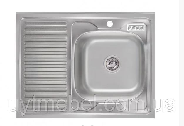 Мийка 8060 ПР 0,7 сатин (Platinum)