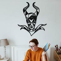 Объемная картина из дерева DecArt Geometric Maleficent