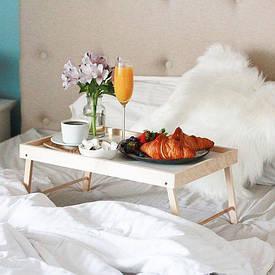 Подносы и столики для завтрака в постель
