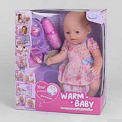 """Пупс """"Baby"""" з магнітною соскою (Warm baby) арт. 058 A-026 B-2"""