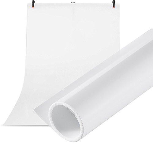 Фотофон Виниловый 100*250см Белый Матовый Super Matt VINIL BD-PRO White для фото