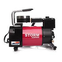 Автомобильный компрессор STORM Big Power 20310, автокомпрессор с манометром