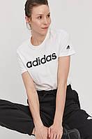 Футболка женская Adidas, белая адидас