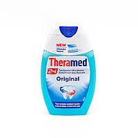 Зубний гель-паста Theramed 2in1 Original (+ополіскувач для рота), 75 мл