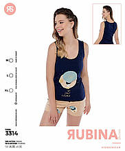 Молодіжна піжама з шортами,Rubina 3314