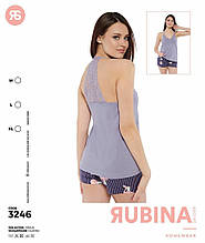 Пижама с шортами, Rubina 3246