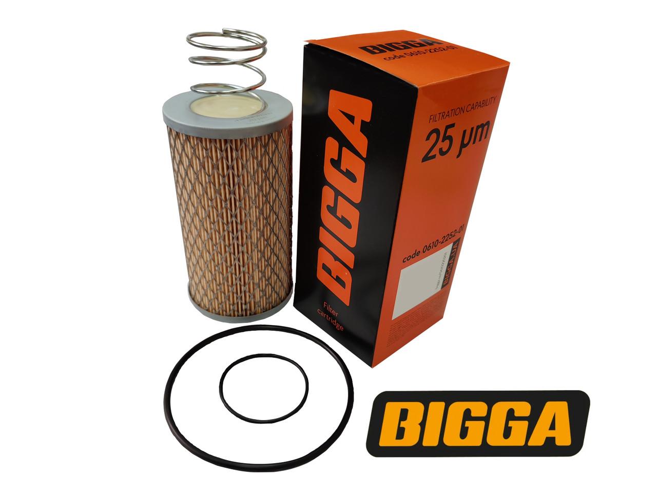 Сменный картридж для фильтра  FG-2 BIO, FG-100BIO 25 микрон, Bigga