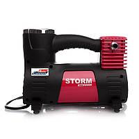 Автомобильный компрессор STORM Max Power 20500, автокомпрессор с манометром