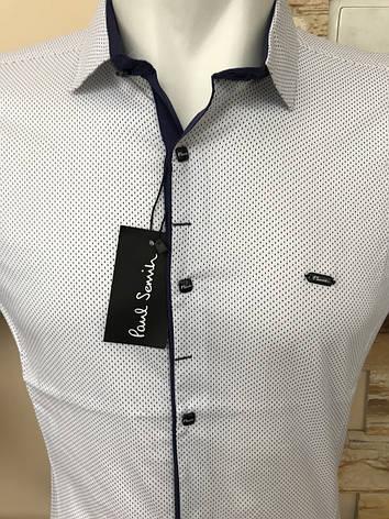 Сорочка короткий рукав Paul Smith з принтом, фото 2