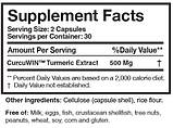 Curcumin Pure - Researched Nutritionals 60 капсул., фото 2