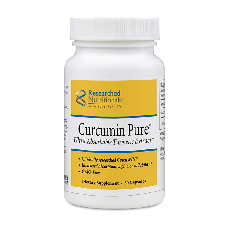 Curcumin Pure - Researched Nutritionals 60 капсул.